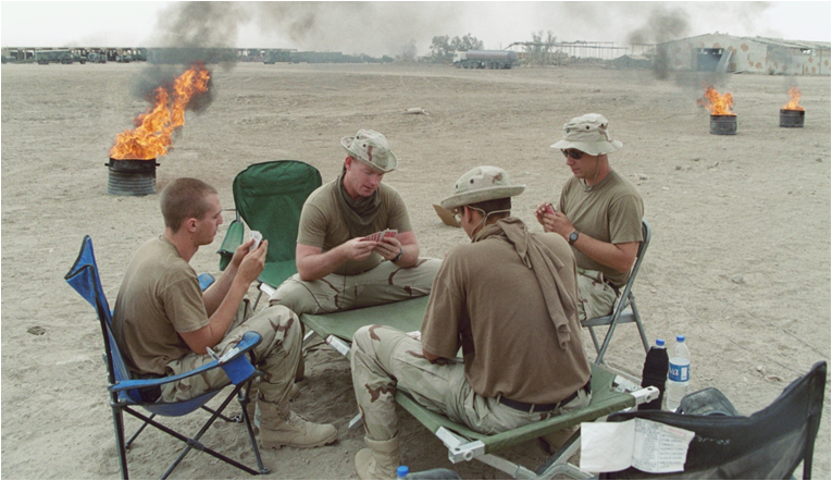 burn pits in iraq | John Bugay